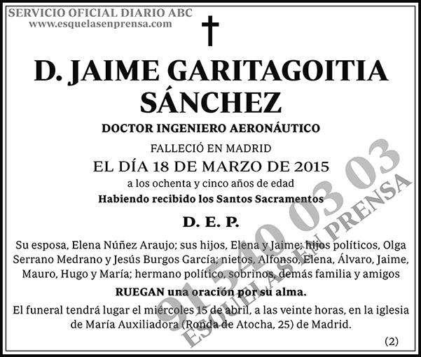 Jaime Garitagoitia Sánchez